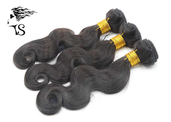 7A Body Wave Real Hair Weft Extensions , 100% Virgin Indian Remy Hair Extensions